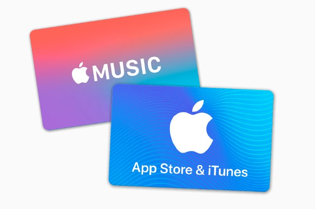 apple store card working list